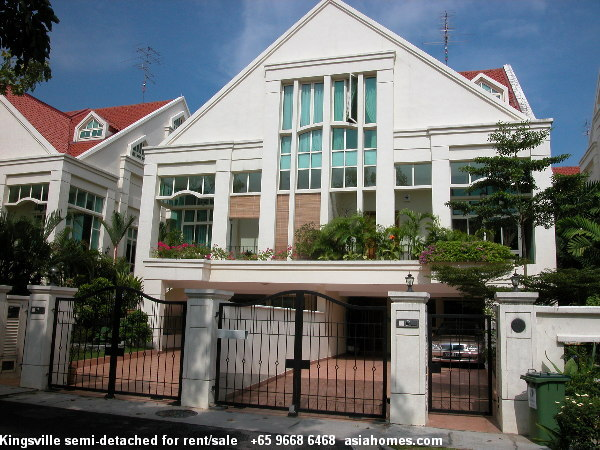Storey Semi Detached Singapore Level 1 Has A Car Parking Lot